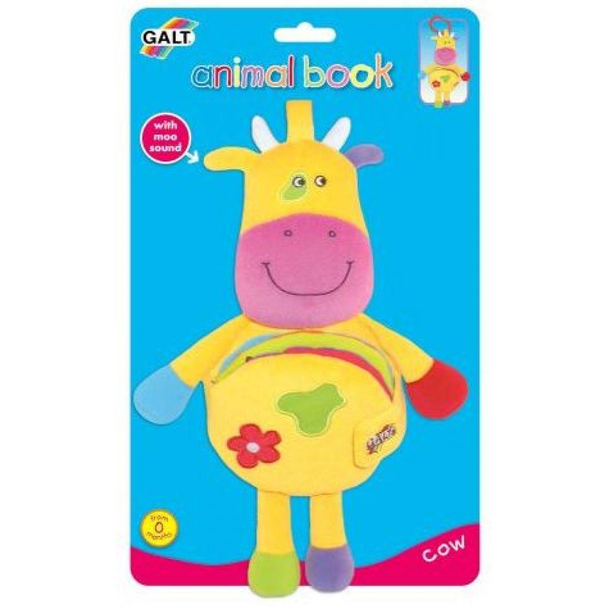Zvířátko s knížkou - kravička