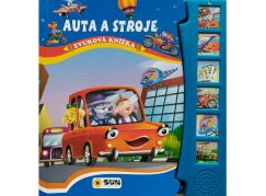 Zvuková knížka Auta a stroje